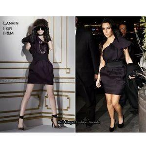 Lanvin & H&M off the shoulder dress